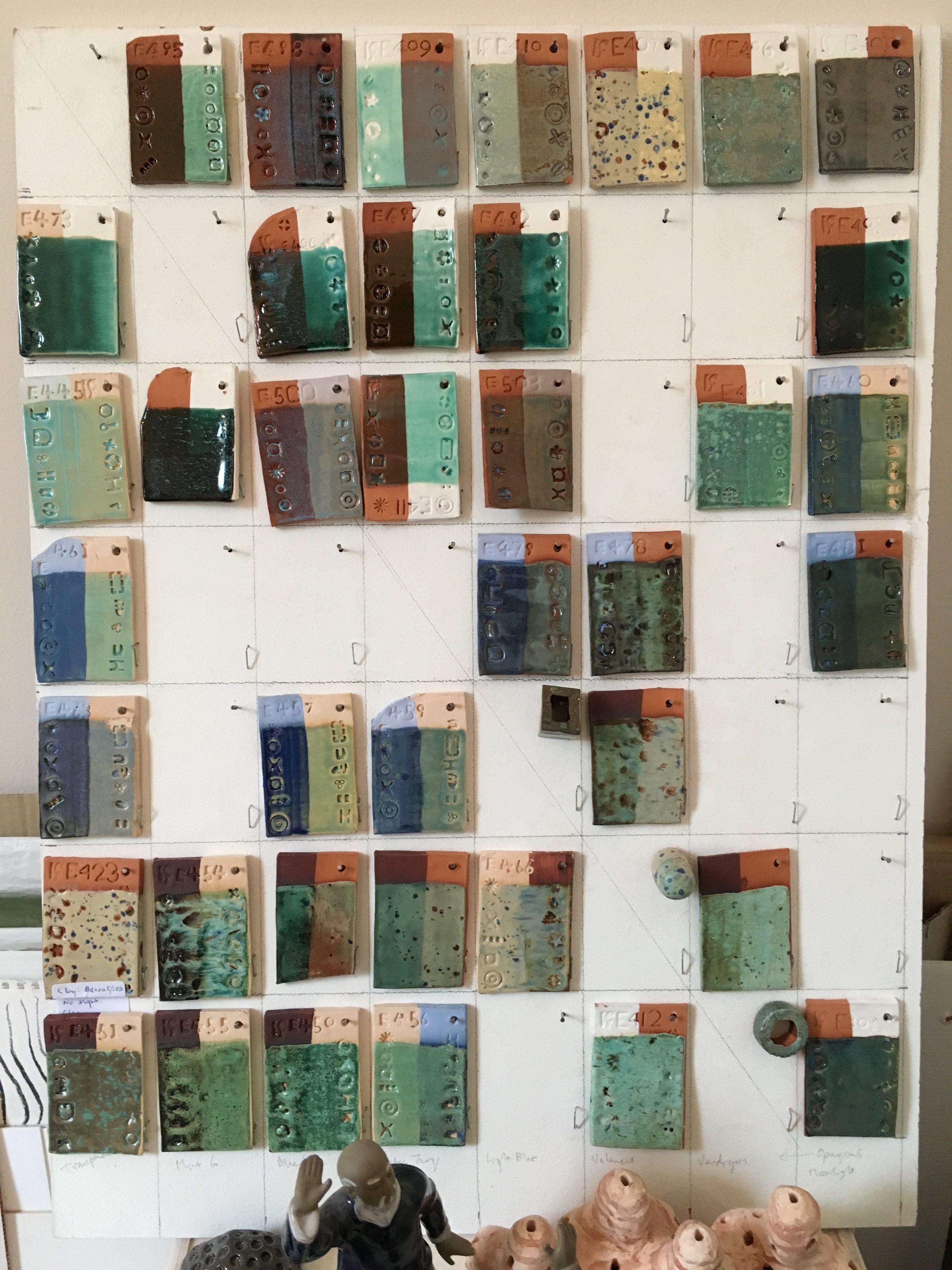 Glaze matrix by Simon Fell Artworks