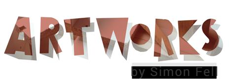 Artworks by Simon Fell, logo