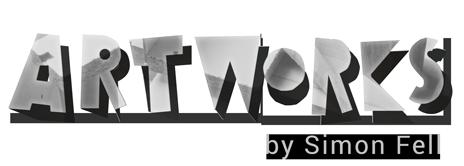 Artworks by Simon Fell - logo dark