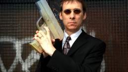 Potgun 1, an oversized pistol, ceramic, length 30cm